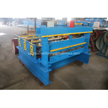 Color Steel Roof Tile Från Curving Machine