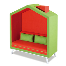 New Arrival Wholesale Pod Meeting Booth Office Furniture Sofa Set