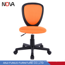 Factory latest modern children swivel racing seat simple chair without armrest