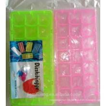 Bandeja vendedora caliente de la bandeja del cuber del icve de JML / bandeja colorida del cuber del hielo de la aduana