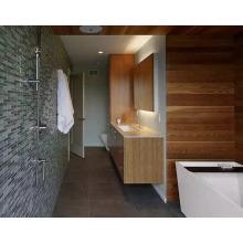 Placa de alta qualidade do cedro do painel de parede da venda no banheiro