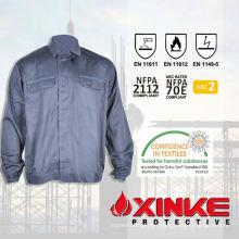 c / n8812 ventas calientes chaqueta a prueba de fuego para la seguridad