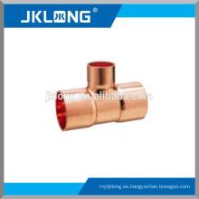 J9101 Racor de cobre / hidráulico Equal Tee