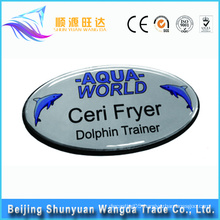 China Pin Badge Maker Produce Custom Metal Name Badge with good price