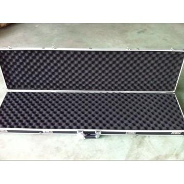 Caixa de arma de liga de alumínio robusta customizável (com fechamento codificado)