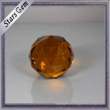 Perlas de cristal tallado redondo AAA redondo del precio bajo de la fábrica
