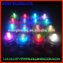 mudança de cor led piscando luz de velas