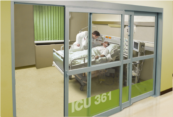 ICU/CCU Systems, Automatic Sliding Doors for Hospital Partitions