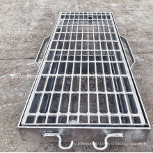 Jimu Drainage Steel Grating Hot DIP Galvanized Manhole Cover Gully Grate Trench Cover