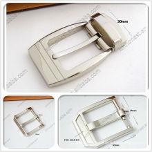 Boucle de ceinture en métal pour hommes de 30 mm