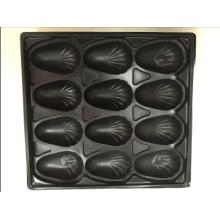 Las muestras libres disponibles OEM ofrecieron la bandeja plástica formada vacío 1000ml PP para el embalaje de la ostra para el restaurante