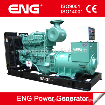 diesel genset with Cummins engine open generator 200kva15day delivery