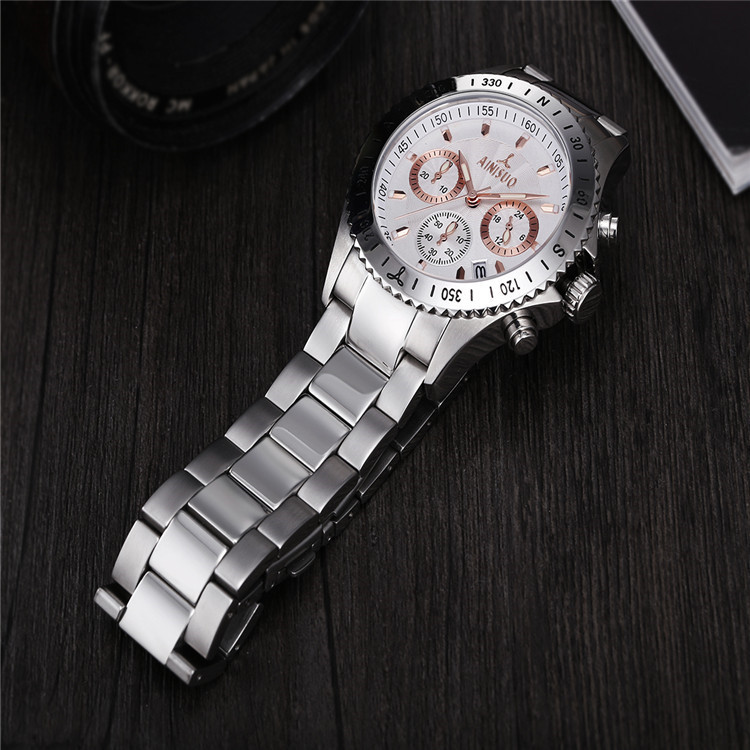 5ATM japan movement quartz wrist watch
