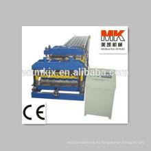 Máquina formadora de rollos de azulejos y baldosas de acero