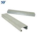 Material de construção suporte de aço suave 201 aço inoxidável canal c