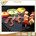 LFGB, ROHS Zustimmungsgrillmatte Barbecue-Grillmatte Hitze Resist Backmatte