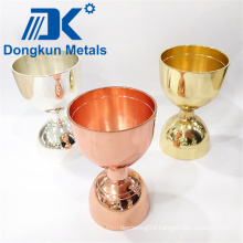 Silver Plating Wine Cup with Precision Casting