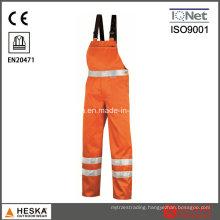 Workwear 3m Reflective Tape Hivis Bib Pants