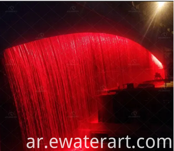 Water Fountain Curtain