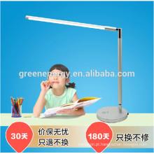 Candeeiro de mesa ajustável de dobramento do brilho do sensor do toque da luz 7w da luz da mesa de Dimmable