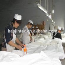 Cinza Padrão e tecido Técnicas PEP poliéster cinza tecido após escovado de hanlin fornecedor