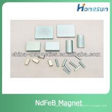 блокировать редкоземельные магниты ndfeb для текстильной Мотор