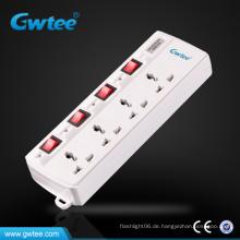 Universelle hochwertige Multiple Power Extension Socket