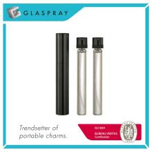 12ml Shiny Black rechargeable Twist and Spray Eau de Parfum Spray Bottle