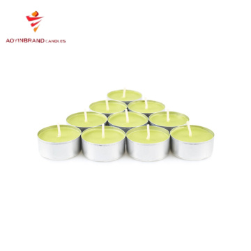 tealight kuning buatan China
