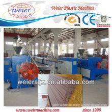 máquina plástica del wpc para decking, el panel de pared, perfil de la cerca