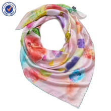 High-end personal collection pure silk SWS232 colorful silk scarf for women scarf wholesale