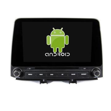 ¡Ocho nucleos! DVD de coche Android 8.1 para Elantra 2018 con pantalla capacitiva de 9 pulgadas / GPS / Enlace espejo / DVR / TPMS / OBD2 / WIFI / 4G