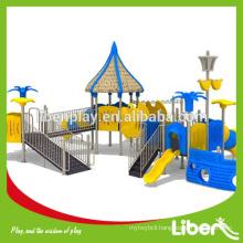 kids plastic slide,outdoor children playground equipment,outdoor playground set LE.HD.015