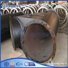 high pressure y branch pipe fitting with flanges (USB3-002)