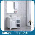 Шкаф для ванной с высоким блеском