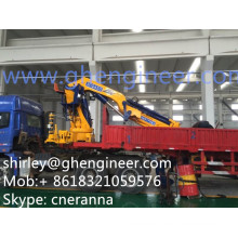 Easy Operation Hydraulic Truck Mounted Crane