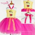 2017 new fashion Cute Minions Girls Dress Cosplay Minion Girls Tutu Dress Party Performance Princess Tulle Dresses wholesale