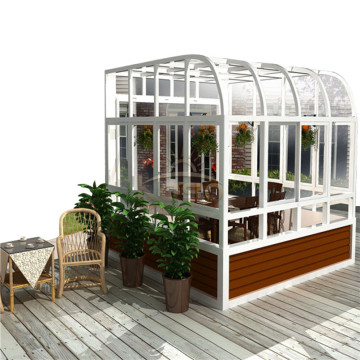 Plastic Sunroom Cheap Kit Glasshus Aluminium