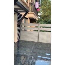 popular WPC vinyl outdoor garden privacy screening fence
