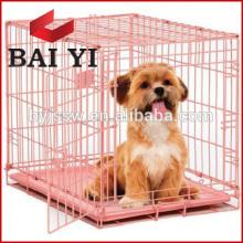 Jaula plegable protectora del animal doméstico de la buena calidad de la malla de alambre