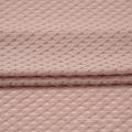 Tecido de malha poli algodão Span Jacquard