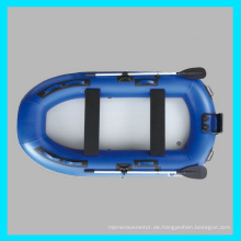 CE 2 Person aufblasbare Hovercraft, Bass Boat
