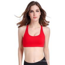 High quality push up breathable quick dry comfortable sport underwear yoga bra