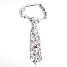 Skinny Floral Baumwolle Print Baby Boy Neck Tie