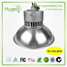 La vente chaude industrielle conduit la haute lumière de la baie 50W garantie de 3 ans a conduit le prix élevé de l'éclairage de la baie pas cher