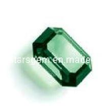 Piedra sintética esmeralda Zirconia cúbica