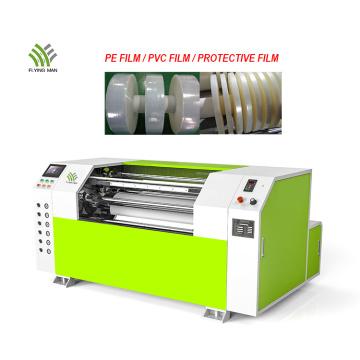 1000mm width PE stretch film slitting rewinding machine