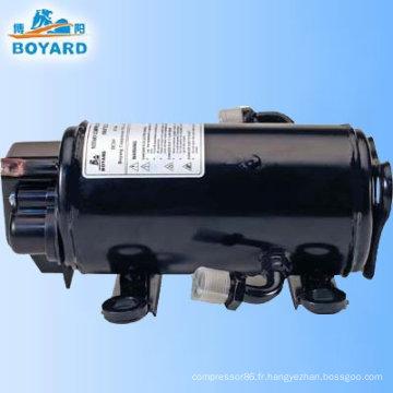 Compresseur de climatiseur 12/24v DC CVC pour cabine de camion couchette minière machine benne pelle