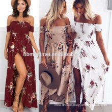 Sexy deep V-neck pleating maxi dress summer women long maxi dresses 2016