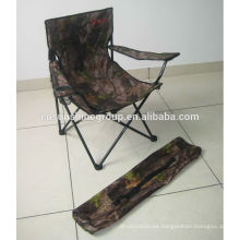 2014 venta caliente camo silla de camping, camping poliester silla